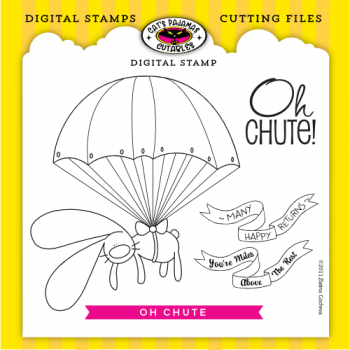 Oh Chute Digital Stamps