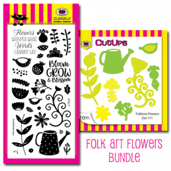 Folk Art Flowers Bundle