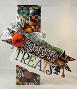 Trickity-Treats Container
