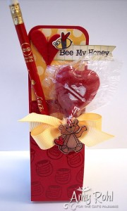 Be A Honey Valentine Pouch